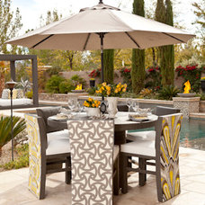 Contemporary Outdoor Chairs by Somers Furniture