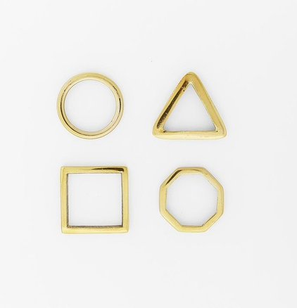 Contemporary Napkin Rings by West Elm