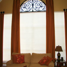 Eclectic Window Treatments by Avenue Window Fashions