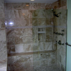 Traditional Bathroom by Revisions Remodeling Showroom