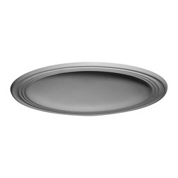 "Ekena Millwork - Traditional Ceiling Dome (24""Diameter x 4 1/2""D Rough Opening) - 28""OD x 22 1/2""ID x 4 5/8""D, 2 3/4""W Trim, Traditional Ceiling Dome (24""Diameter x 4 1/2""D Rough Opening). Urethane ceiling domes enhance interiors with rich texture and traditional appeal. Many of our urethane ceiling domes include classic decorative details, ranging from floral motifs to crisp moulding. Whether you seek something subtle or ornate, we have a urethane ceiling dome for you. Each ceiling dome is factory primed and ready for your paint or faux finish. Each dome is manufactured out of a high density urethane foam, which is great for durability, but is also lighter than other materials to make installation a snap. Enhance your room with a beautiful ceiling dome focal piece."