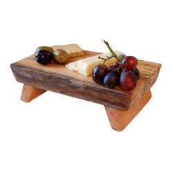 ecofirstart - Cutting Board Maple Platter - A cut above the rest, this board provides a stable (and entertainment-worthy) surface for chopping, slicing and serving. Easy to maintain and portable, it's perfectly proportioned to fit nicely inside your picnic basket, too.