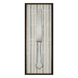 Paragon Art - Paragon Pin Stripe Knife - Artwork - Pin Stripe Knife ,  Paragon Artist is Fisk , Paragon has some of the finest designers in the home accessory industry. From industry veterans with an intimate knowledge of design, to new talent with an eye for the cutting edge, Paragon is poised to elevate wall decor to a new level of style.