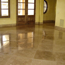 Modern Floor Tiles by Tiles Travertine Ltd