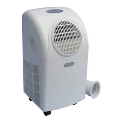 Sunpentown - 12,000 BTU Portable Air Conditioner - Stay COOL and breathe fresher air with our 12,000btu units. Ideally cools an area up to 400sq.ft. Effectively improves air circulation in poorly ventilated spaces and maximizes energy efficiency. Uses new UL required LCDI plug.