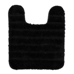 "Mohawk - Floor Mat: Gateway Black 21"" x 24"" Contour Bath - Shop for Flooring at The Home Depot. Add softness underfoot with these nylon bath rugs. A stylish way to add warmth to tile floors, these rugs are available in an array of designer colors. The rug features a skid-resistant latex backing to help prevent sliding and is machine washable for easy care."