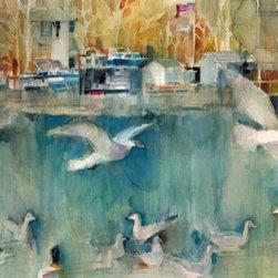 Birdies In Nyack (Original) by Dorrie Rifkin - Location:  Nyack, NY