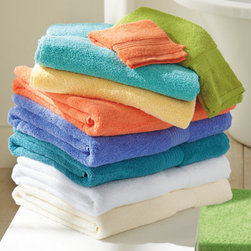 Grandin Road - Atelier Bath Sheet - Plush, luxurious bath towels in a range of alluring colors. 100% cotton. 530 gsm. Monogrammable in your choice of style. Appoint your bathroom with our soft Atelier Towels, and you'll instantly upgrade your daily routine. These lint-free pieces are thick and durable, and available in a range of inviting tones to refresh your color palette-or harmonize with existing decor. Consider combining multiple hues for a unique color scheme.  .  .  .  . Imported.