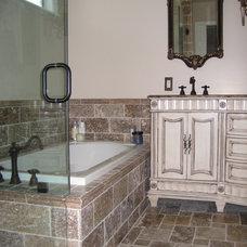 Traditional Bathroom by Barbara Stock Interior Design