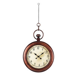 Joshua Marshal - Antique Reproduction Hanging Clock - Antique Reproduction Hanging Clock