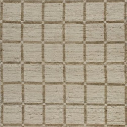 Uttermost - Uttermost Shahpur Transitional Reversible Rug X-5-24017 - This reversible rug is hand woven natural jute and cotton chenille. This rug is not recommended for high traffic areas.