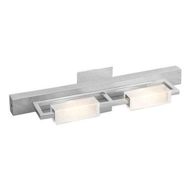 """Access Lighting - Access Lighting 62252 Two Light Ambient Lighting 22.25"""" Wide Bathroom Fixture fr - Two light ambient lighting bathroom fixture featuring opal glassRequires 2 75w T-3 Base Halogen Bulb (Not Included)ADA compliant"""