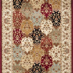 """Safavieh - Safavieh Majesty MAJ4896-4011 5'3"""" x 7'6"""" Red Rug - The Safavieh Majesty Collection takes traditional, Persian and European patterns, and uses modern construction methods to create the most stylish area rugs. The polypropylene pile keeps dirt out and adds durability to these rugs. The fringeless borders give a very clean, elegant look and feel."""