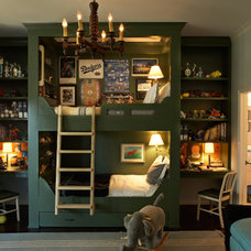 Boy room cool alcove bed