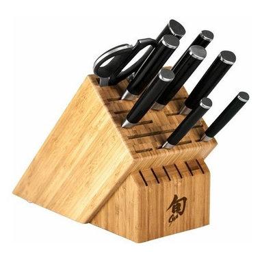 Shun - Shun Classic 10 Pc Chef's Knife Block Set - Includes: