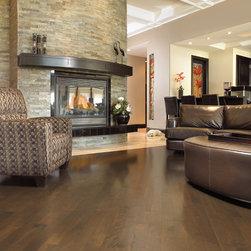 Mirage Hardwood Floors - Mirage: Admiration Collection: Yellow Birch, color: Java