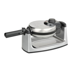 Kalorik - Belgian Waffle Maker - Thick Belgian waffles are a great way to start a Sunday morning. You could easily work this tradition into your family's week with a reliable and high-quality waffle maker. The rotary design ensures even cooking so you can get on to the best part — the eating!