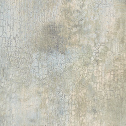 Blue and Tan Crackle Texture - KB20225 - Collection:Texture Style