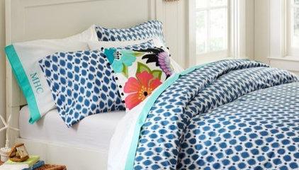 Ikat Dot Organic Duvet Cover & Pillowcases | PBteen