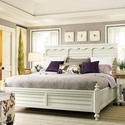 Better Homes and Gardens American Cottage Shutter Bedroom Set in Gardenia -