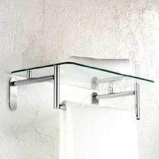 Motiv 0243-20/SN Sine Tempered Glass Hotel Bathroom Shelf - Amazon.com