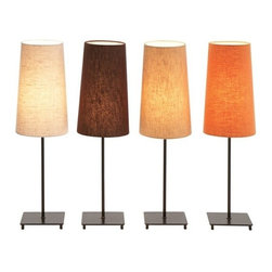 "Benzara - Set of 4 23"" Tall Designer Normandy Metal Table Lamp - Set of 4 23"" Tall Designer Normandy Metal Table Lamp. Lamp is 23 inches tall and 6 inches wide. Designer Lamp made from metal and fabric shade. Switch used is E 27 3- Way Max, 60 watt light bulb recommended bulb not included."