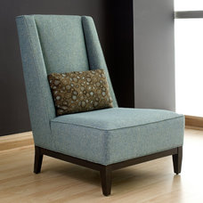 Eclectic Living Room Chairs by Designing Solutions
