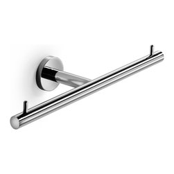 WS Bath Collections - Spriz Double Toilet Paper Holder in Polished Chrome - Features: