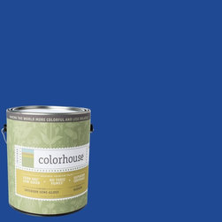 Inspired Semi-Gloss Interior Paint, Petal .05, Gallon - Colorhouse paints are zero VOC, low-odor, Green Wise Gold certified and have superior coverage and durability. Our artist-crafted colors are designed to be easy backdrops for living. Colorhouse paints are 100% acrylic with no VOCs (volatile organic compounds), no toxic fumes/HAPs-free, no reproductive toxins, and no chemical solvents.