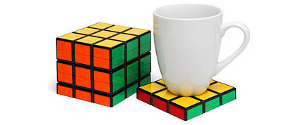 Eclectic Coasters by ThinkGeek