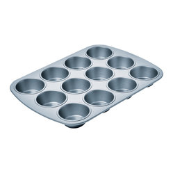 Chicago Metallic Betterbake Nonstick 12-Cup Muffin Pan