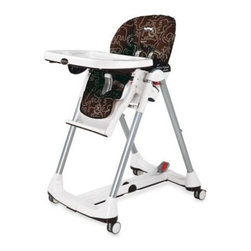 Peg Perego - Peg Perego Prima Pappa Diner High Chair in Savana Cacao - This modern high chair is fully assembled and ready to use is a great satisfaction in this busy world.