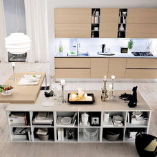 Modern Kitchen Cabinetry by Prestige Designs