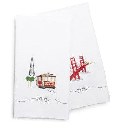 Contemporary Dishtowels by Sur La Table