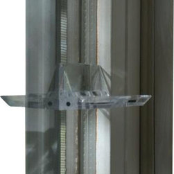 Prime Line - Sliding Door Flip Lock - Sliding doors and double-hung windows can be way too tempting to curious tots. Secure yours with this simple flip-latch system and feel confident all through the house.