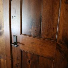 Rustic Interior Doors by Muskoka Custom Carpentry ltd.