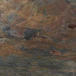 marblesystems - Multicolor Natural Cleft Slate Tiles - Natural slate tile. Made in Turkey.