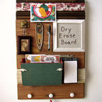 Repurposed Ecofriendly Chalkboard, Turquoise, by Half Pint Salvage - Eclectic - Bulletin Boards ...
