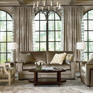 Thomasville Sofas and Sectionals - Simple Choices sofa with nailheads