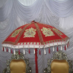 Indian Wedding Umbrella - Impressive Arts & Interiors