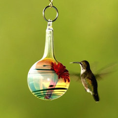 contemporary bird feeders by Etsy