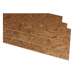 "Forna - 1/4"" Foliage Cork Flooring Tiles 22 SQ FT/PKG - All glue down tiles need two coats of a water based poly urethane once installed to maintain integrity of cork and seam all seals, and recommended glue WAKOL D3540"