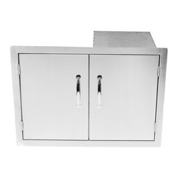 Sunstone Grills - FLUSH DOUBLE DOOR / TANK HOLDER & DUAL DRAWERS - Quick Overview