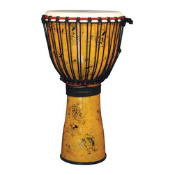 X8 Drums - X8 Drums Urban Beat Djembe - X8-DJ-UB-L - Shop for Toy Instruments from Hayneedle.com! The X8 Drums Urban Beat Djembe is great for a drummer on the go. This African drum is made with a fiberglass shell that is virtually indestructible. The sturdy construction doesn't take away from its excellent resonance though so this drum will go anywhere and sound great once it gets there. About X8 DrumsX8 Drums truly walks to the beat of their own drum. This family-owned company is committed to providing the best selection of high-quality musical instruments with an emphasis on world music percussion instruments. X8 Drums has certainly helped champion ethnic hand drums in the digital age thanks to its founders - a New York City rocker and an internet sage.