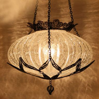 Turkish Style Ottoman Glass Pendant Lighting - *Code: HD-04162_63