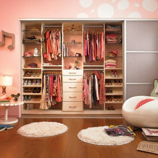 Eclectic Closet Organizers by California Closets Fort Lauderdale