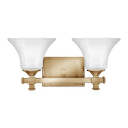 Hinkley Lighting - 5852BC Abbie Bath Vanity Light, Brushed Caramel - Traditional Bath Vanity Light in Brushed Caramel from the Abbie Collection by Hinkley Lighting.