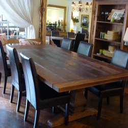 Rustic Dining Table - Doug Barker