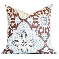 Contemporary Pillows by Arianna Belle