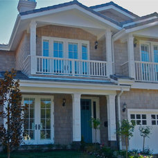 Traditional Exterior by Hope Morris Designs